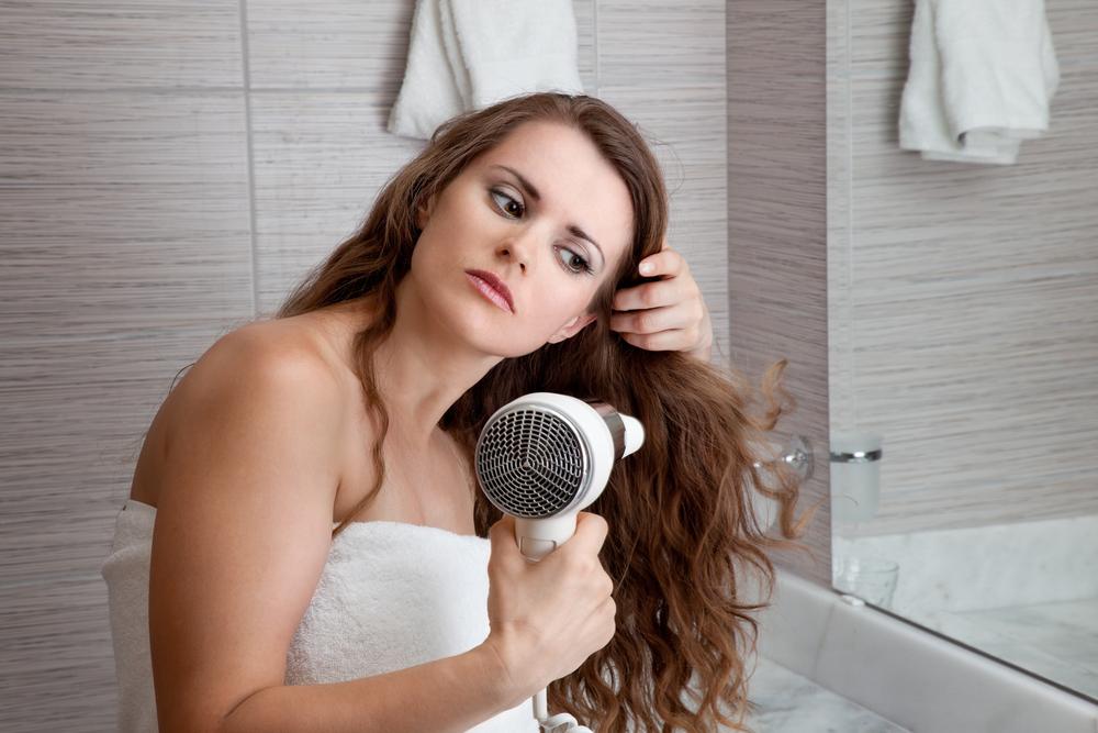 Секс с жирными волосами