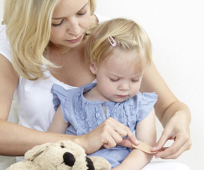Ребенок с гемофилией фото
