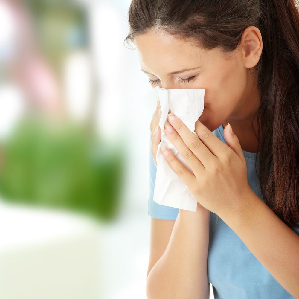 аллергия в носу